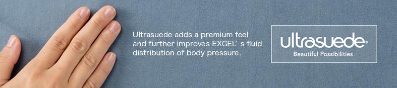 上質な質感で体圧流動分散の機能性を高めるウルトラスエード。