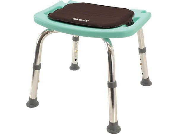 エクスジェルのやさしい座り心地と安心の防水仕様