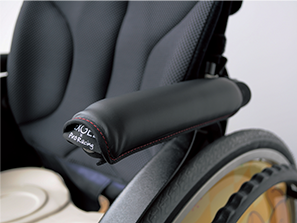 アクティブ車椅子に合わせたデザイン